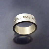 Fingerring 10x2 mm